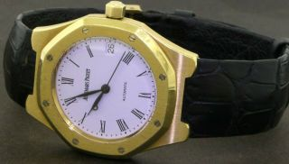 Audemars Piguet Royal Oak 14800ba 18k Gold 36mm Automatic Men