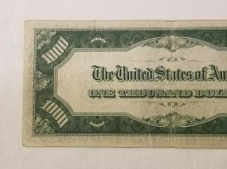 West Point Coins 1934 $1,  000 Federal Reserve Note ' J ' Kansas City FR - 2211 - J 6