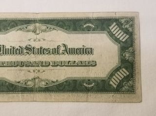 West Point Coins 1934 $1,  000 Federal Reserve Note ' J ' Kansas City FR - 2211 - J 7