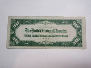 Federal Reserve Note $1000.  00 bill 2