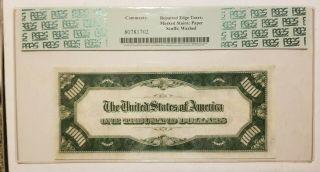 1928 Thousand Dollar Note US,  PCGS,  PPQ35 3