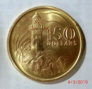 $150 Gold Coin Issued To Celebratel 150th Anniversary Of Singapore
