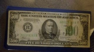 500 Dollar Bill Real Usa Paper Money