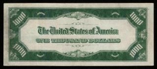LGS 4 Digit Chicago ONE THOUSAND 1934 $1000 DOLLAR BILL 500 FR2211G 3