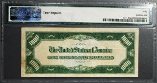 1934 $1000 FEDERAL RESERVE NOTE St.  Louis Fr 2211 - H PMG 30 Very Fine A1232 2