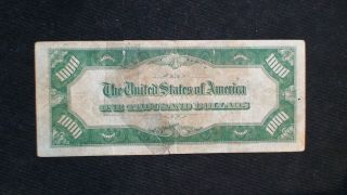 1934 ONE THOUSAND DOLLAR FED RESERVE NOTE CHICAGO HIGHLY SOUGHT $1000 Bill 4