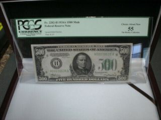 $500 Dollar Federal Reserve Note Fr 2202 - H 1934 - A $500 Mule
