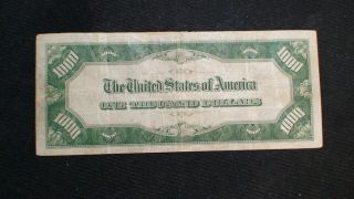 1934 ONE THOUSAND Dollar Federal Reserve Note VF $500 Bill Starts At 99 Cents 4