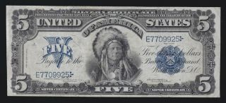 Us 1899 $5 Silver Certificate Fr 274 Vf (- 925)