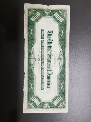 1934A $1000 FEDERAL RESERVE NOTE 2