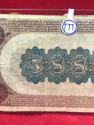 NATIONAL CURRENCY $20 SERIES 1882 THE UNAKA NATIONAL BANK OF JOHNSON CITY (TN) 8