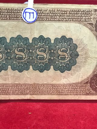 NATIONAL CURRENCY $20 SERIES 1882 THE UNAKA NATIONAL BANK OF JOHNSON CITY (TN) 9