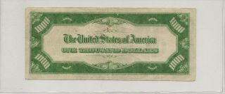 1934 St.  Louis (H) Federal Reserve Note $1000 Thousand Dollar Bill,  Ungraded 4
