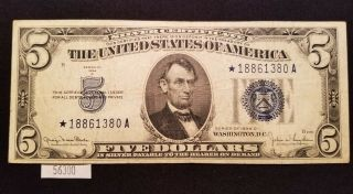 West Point Coins 1934 D $5 Silver Certificate