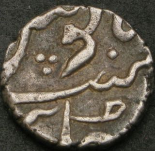 India (british) 1/5 Rupee Nd - Silver - Bombay Presidency - Vf - 939 ¤