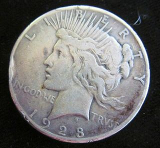Look 1928 - P Peace Dollar Key Date