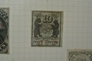 U.  S.  Scott's (11x2) 1845 10cent St.  Louis Postmasters Provisional