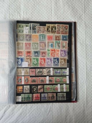 Uni - safe Stamp Album Full Of Errors,  Minisheets,  Inverts,  US And Foriegn Stamp 2