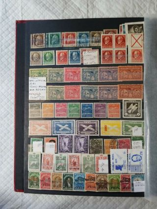 Uni - safe Stamp Album Full Of Errors,  Minisheets,  Inverts,  US And Foriegn Stamp 9
