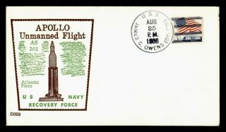 Dr Who 1966 Uss James C Owens Naval Ship Space Recovery Force Apollo E68047