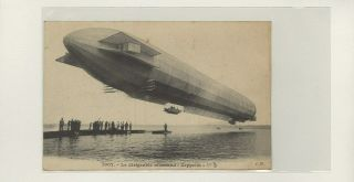 Zeppelin Picture On Postcard Lot 37