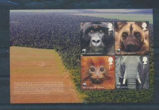 Gx02258 Great Britain Animals Fauna Flora Wildlife Good Sheet Mnh