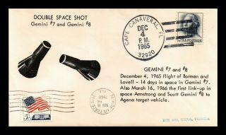 Dr Jim Stamps Us Double Space Shot Combo Event Cover Gemini 7 8