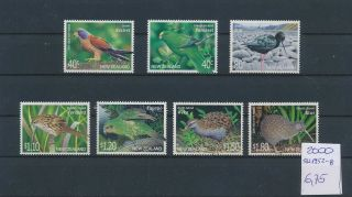 Gx02125 Zealand 2000 Fauna & Flora Birds Fine Lot Mnh Cv 6,  75 Eur