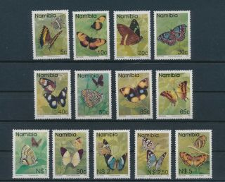 Lk58729 Namibia 1993 Insects Bugs Fauna Butterflies Fine Lot Mnh