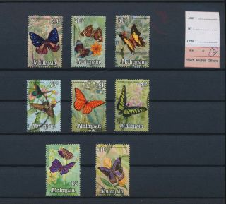 Lk66167 Malaysia Insects Bugs Flora Butterflies Fine Lot