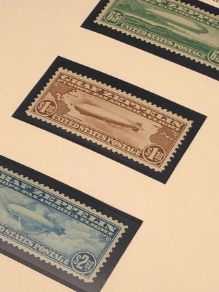 Scott Album Page Us Postage Stamp Lot / / / Never Hinged / 1930