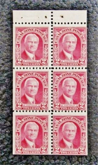 Nystamps Us Canal Zone Stamp 106a Og Nh $23