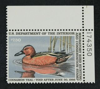 Rw52 1985 Federal Duck Stamp Vf Ognh P S Ebay Low Store (rw1 - 86)