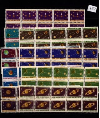 /// 10x Albania - Mnh - Space - Solar System - Planets -
