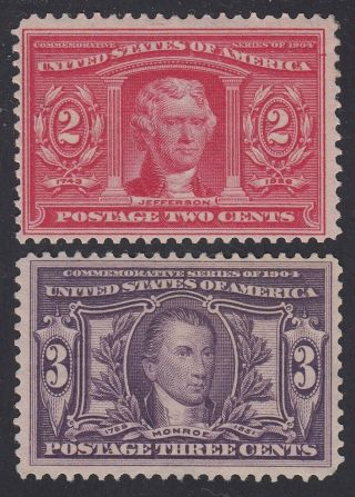 Tdstamps: Us Stamps Scott 325 Regum,  324 H Og