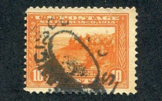 1913 U.  S.  Scott 400a Ten Cent Panama - Pacific Expo Stamp