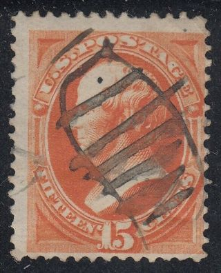 Tdstamps: Us Stamps Scott 163 15c Webster Og Cv$160.  00