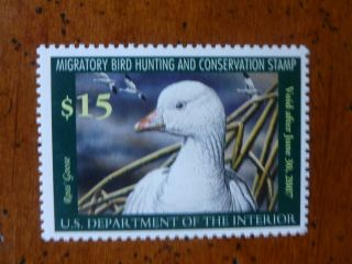 Nh Federal Duck Stamp Scott Rw73