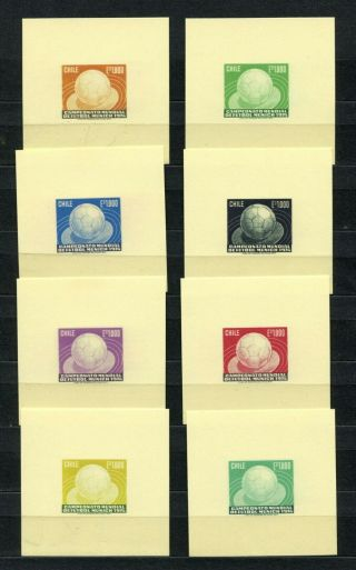 ,  1974 Football In Different Colour Thick Paper