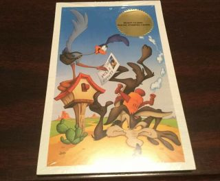 Roadrunner & Wile Coyote Set Of 10 Postal Cards - Packaging