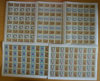 K301.  Sharjah - Mnh - Space - Astronauts - Full Sheet -