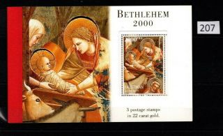 Palestine 1999 - Mnh - Booklet - Christmas