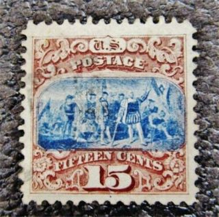 Nystamps Us Stamp 118 $750 Xf