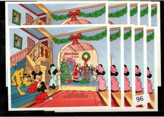 ,  10x Sierra Leone - Mnh - Disney - Christmas - Animals