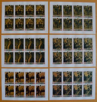 O938.  Ajman - Mnh - Famous People - Beethoven - Full Sheet - - Imperf