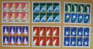 T938.  Ajman - Mnh - Space - Apollo 16 - Full Sheet - - Imperf