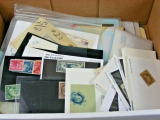 Us,  Wonderful Accumulation Of Stamps In Glassines,  Stock Cards