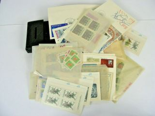 Canada,  Accumulation Of Mostly Stamps Cards & In Others