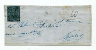Italy Parma 1852 Issue Stamp On Cover Piece Only To Naples - High Value -