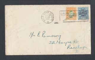 Ireland 1941 Surcharge First Day Cover Fdc Dublin Cat €60